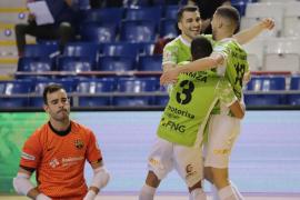 El Palma Futsal se impone en el último minuto al Barça