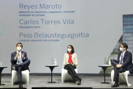 Carlos Torres Vila se reúne con empresarios de Baleares, consejeros asesores regionales de BBVA en España