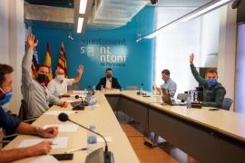 Sant Antoni rechaza el tráfico de ferris en el puerto con el voto de PxE