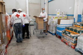Cruz Roja repartirá durante los próximos meses alimentos para 2.431 personas de Ibiza