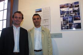 Vicente Tomás y Ángel Sánchez-Cantalejo