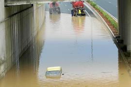 El Govern quiere empezar este año las obras de drenaje de la autovía al aeropuerto