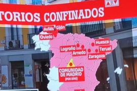 'Al Rojo Vivo' enfada de nuevo a los aragoneses con un error geográfico
