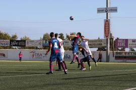 Las mejores imágenes del partido de la Peña Deportiva vs Atlètico Levante.