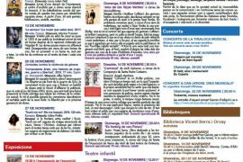 Noviembre llega a Sant Josep con la Tiraloca Musical y un Festival de Teatre Amateur