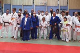 Los judocas de Ibiza, protagonistas en el programa 'Donde viajan dos'