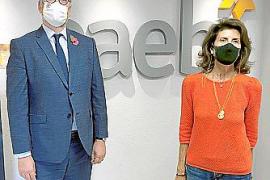 CAEB traslada al cónsul británico su preocupación