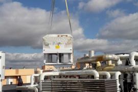 Vila sustituye las dos plantas refrigeradoras de las Torres 1 y 2 del edificio del CETIS
