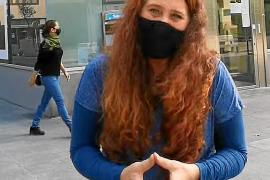 Viviana de Sans en el video en el que critica al Consell