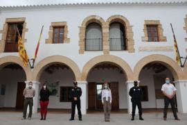 Un nuevo agente se incorpora a la Policía Local de Santa Eulària