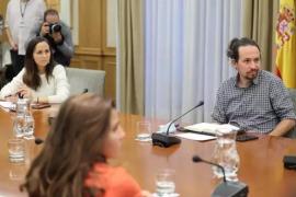 Iglesias reclama que el Gobierno prohíba desahucios y cortes de suministros durante el estado de alarma