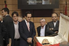 CAPILLA ARDIENTE DE SANTIAGO CARRILLO