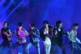 Los surcoreanos BTS, triunfadores de los MTV EMAs 2020