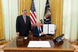 Barr autoriza a los fiscales de EEUU a investigar las acusaciones de supuesto fraude electoral