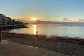 Así amanece en Ibiza este miércoles