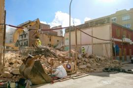 Derriban un edificio del Eixample de Palma para el cual ARCA solicitó su protección