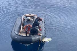 Hallan el cadáver de uno de los pilotos de la avioneta caída al mar cuando volaba de Ibiza a Reus