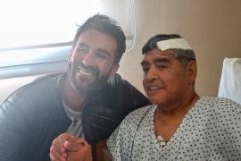 Maradona recibe el alta una semana después de su operación