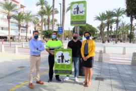Sant Antoni inicia una campaña para concienciar a los propietarios de perros