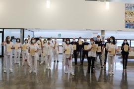 Un total de 27 sanitarios toman posesión de sus plazas fijas en Ibiza