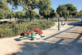 Nuevo circuito biosaludable en el parque Marià Villangómez de la ciudad de Ibiza