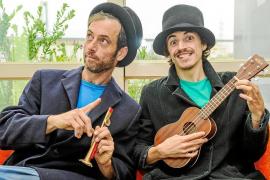 David y Monma llegan hoy a Sant Jordi con su espectáculo 'Cuentos de África'