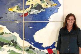 Diana Bustamante vive su momento más dulce con tres exposiciones en dos meses