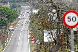 Policía y Guardia Civil vigilan las carreras de motos en Santa Agnès