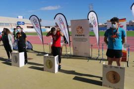 Dani Planells cierra su debut en el Nacional con una medalla de plata