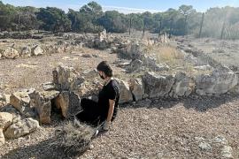 Hallan restos animales en las excavaciones de la Cueva de La Mola