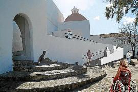 La rampa para el Puig de Missa, más cerca