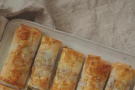 Triunfa con esta original y saludable receta de jamón serrano y queso