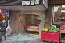 Destruye una panadería cuando intentaba atropellar a otro conductor tras discutir por una plaza de aparcamiento