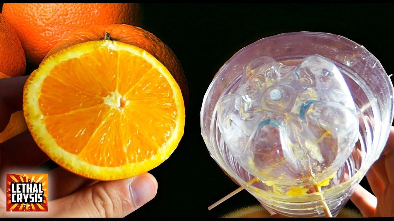 Cómo hacer zumo de naranja sin exprimidor, paso a paso
