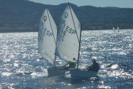 El Club Nàutic Sant Antoni lidera el ranking insular de Optimist