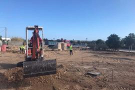 Formentera inicia las obras del Parque de patinaje y usos deportivos