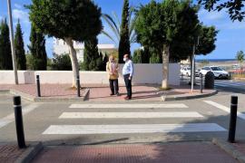 Sant Antoni finaliza las obras de una nueva fase del proyecto de eliminación de barreras arquitectónicas