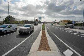 Apertura progresiva de la carretera de Santa Eulària