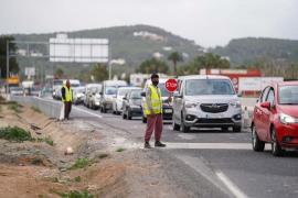 El Consell informa de cortes en la carretera de Santa Eulalia la próxima semana