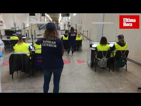 Llegan a Baleares los primeros viajeros con PCR obligatoria