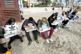 Los 'observadores del mar' inician su diagnóstico de ses Figueretes