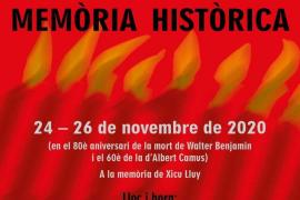 La historia contemporánea a debate con Xicu Lluy, Walter Benjamin y Albert Camus en la memoria