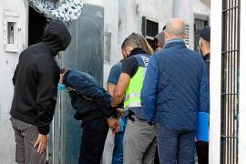 La Policía da por cerrado un «círculo de venta de drogas» tras los ocho arrestos en sa Penya