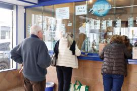 Administraciones de Lotería de Ibiza cifran en un 30% el descenso en sus ventas para el sorteo de Navidad