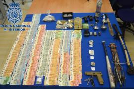 Policía Nacional interviene en sa Penya cocaína y heroína para 8.000 dosis