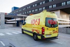 En estado crítico un joven motorista accidentado en Sant Antoni