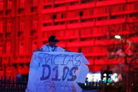 Argentina despide a Maradona, en imágenes.