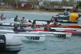 Sant Antoni acoge este sábado el Campeonato de Balears de Kayak de Mar