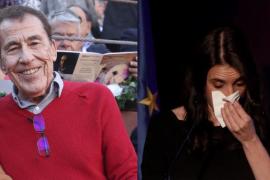 Sánchez Dragó se burla de las lágrimas de Irene Montero por la violencia machista