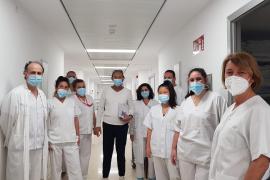 Cuatro pacientes de residencias de entre 64 a 93 años reciben el alta en Ibiza tras superar el coronavirus